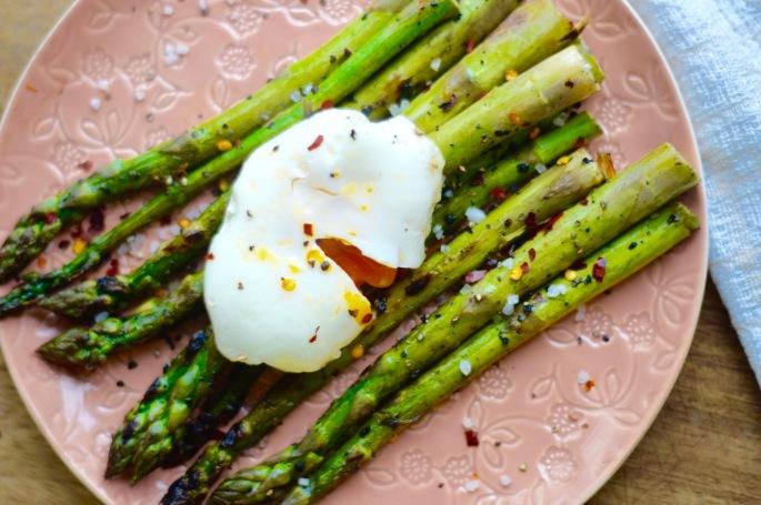 Stacey Hogan - Asparagus Poached egg