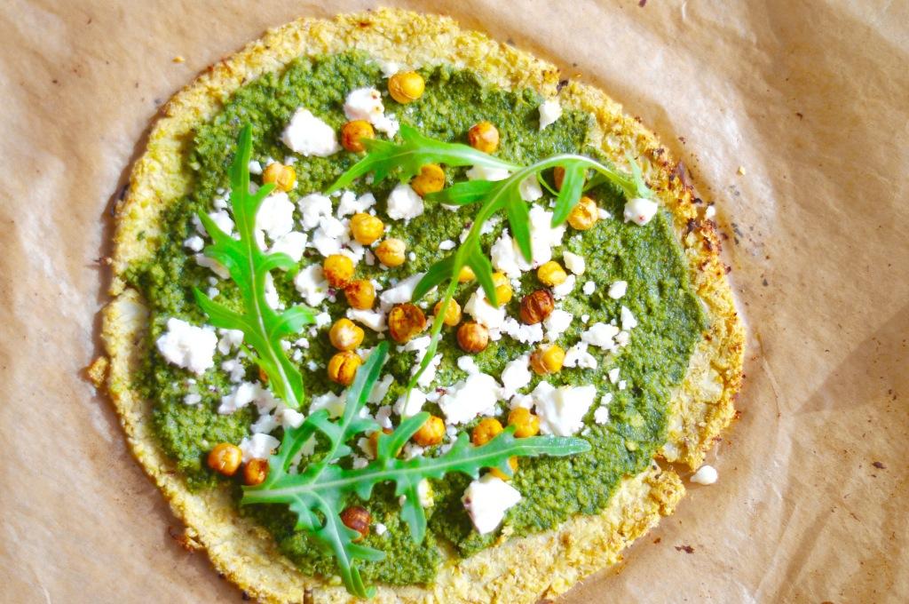 Stacey Hogan Cauliflower Pizza Vegan