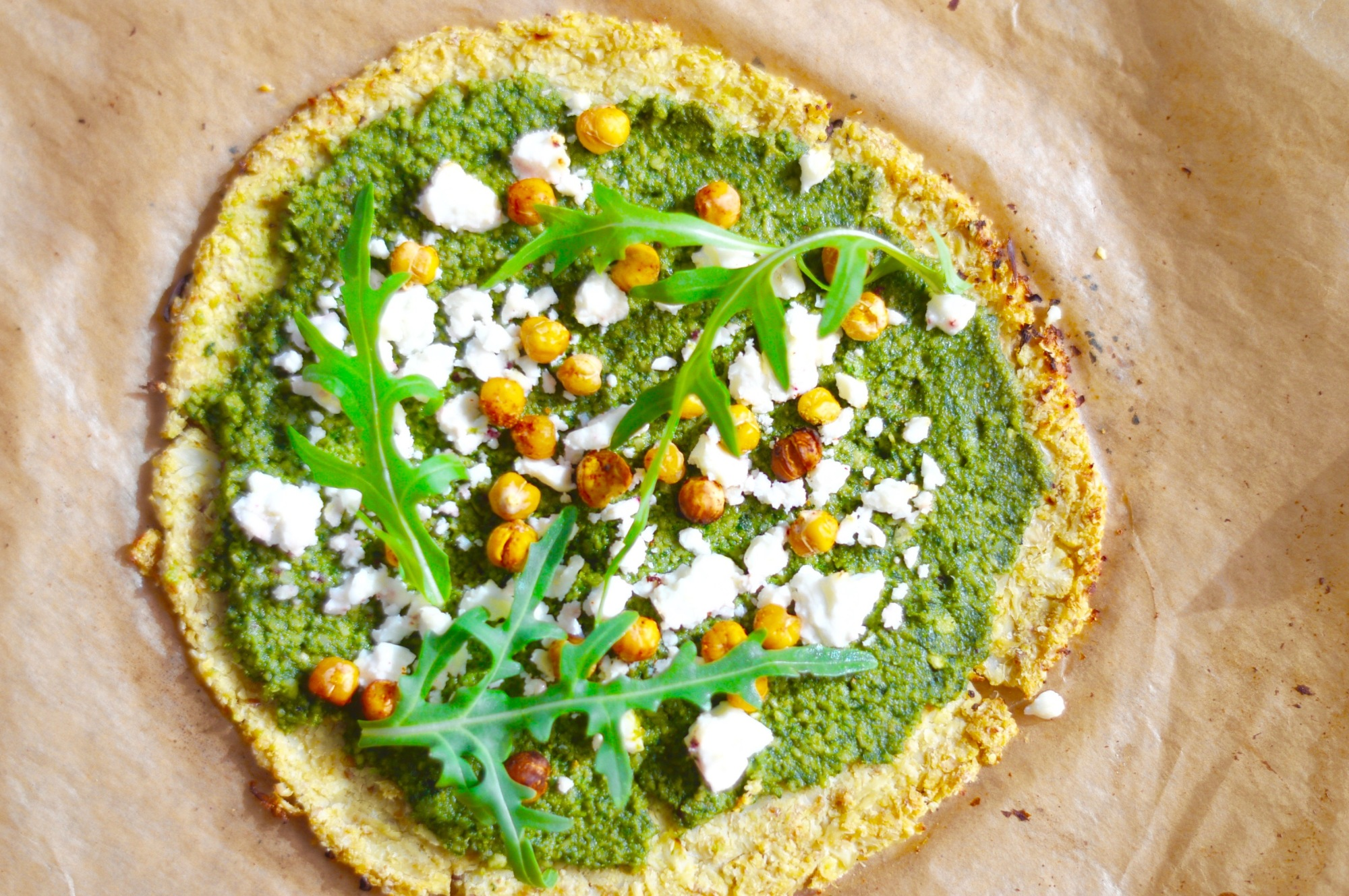 Stacey Hogan Cauliflower Pizza Vegan