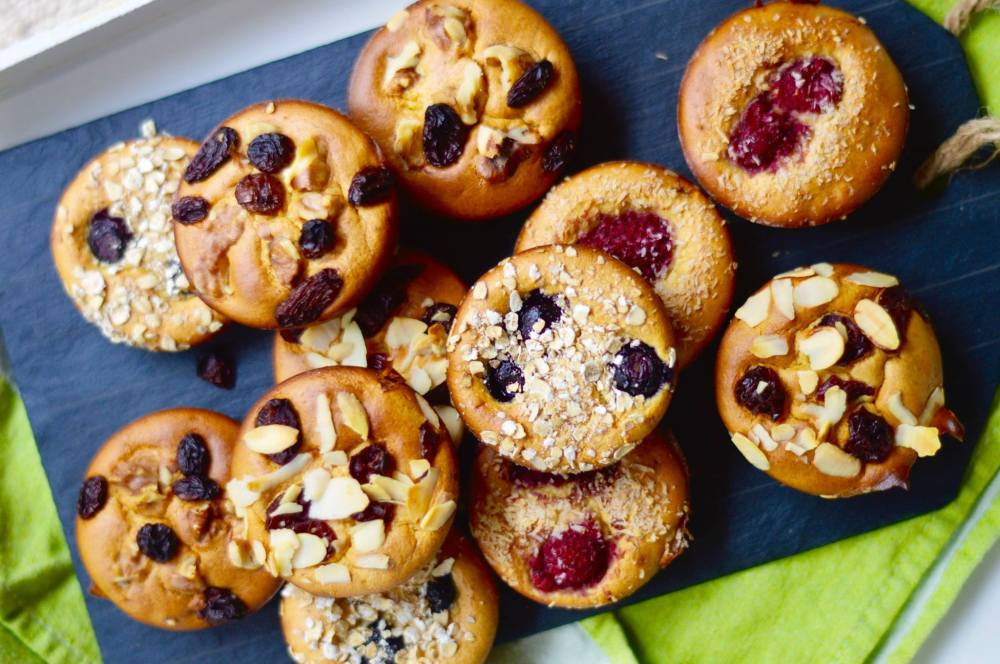 Stacey Hogan - Flourless Banana Muffins