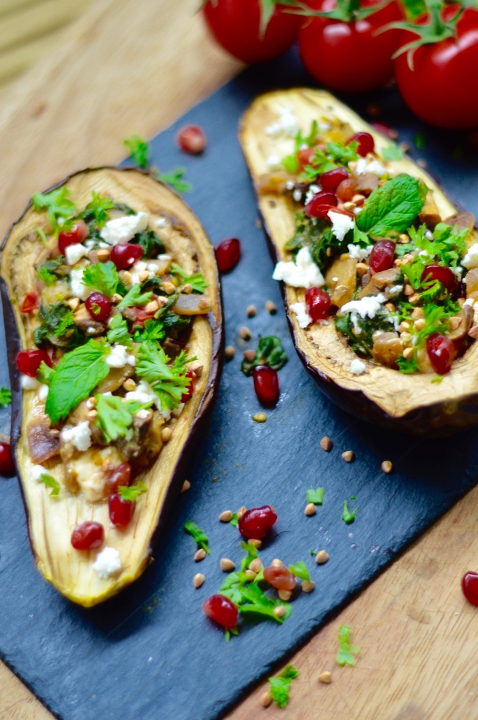 stacey hogan - stuffed aubergine recipe