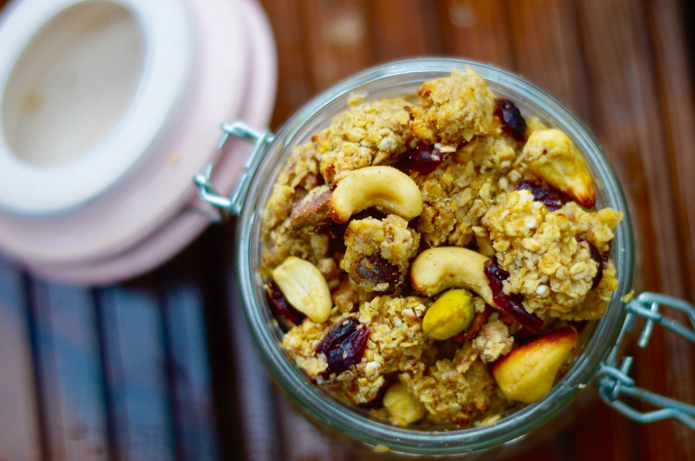 Stacey Hogan 21 day fix vegan oat cluster cereal recipe