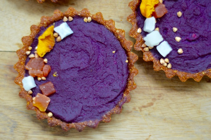 Stacey Hogan - Purple Sweet Potato Pie Vegan