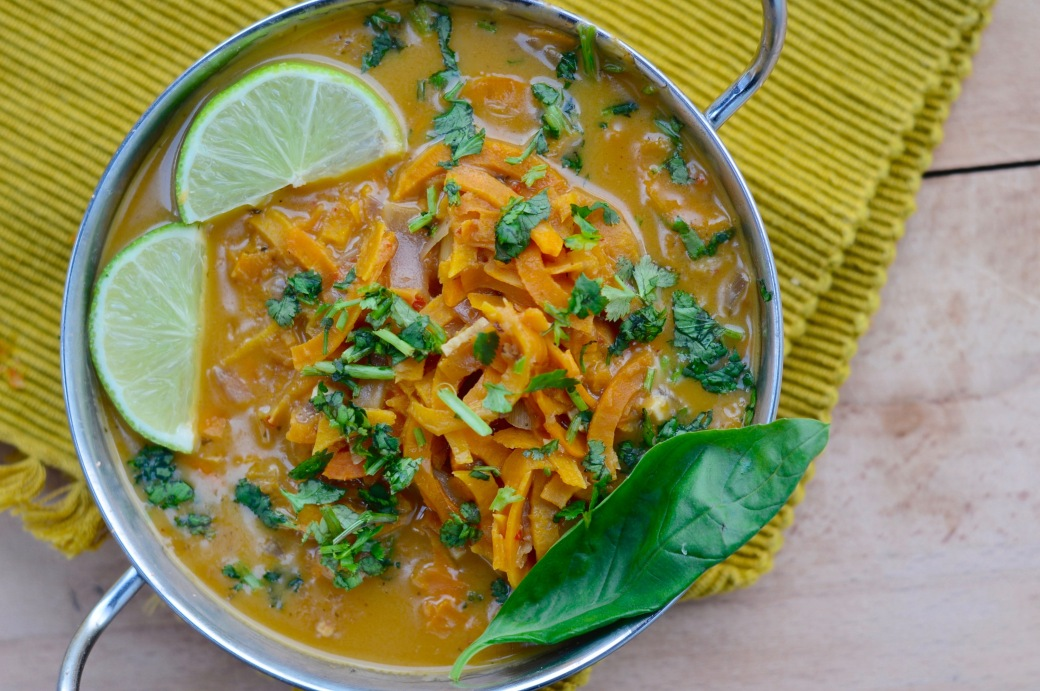 Vegan Thai Red Curry Soup - Stac