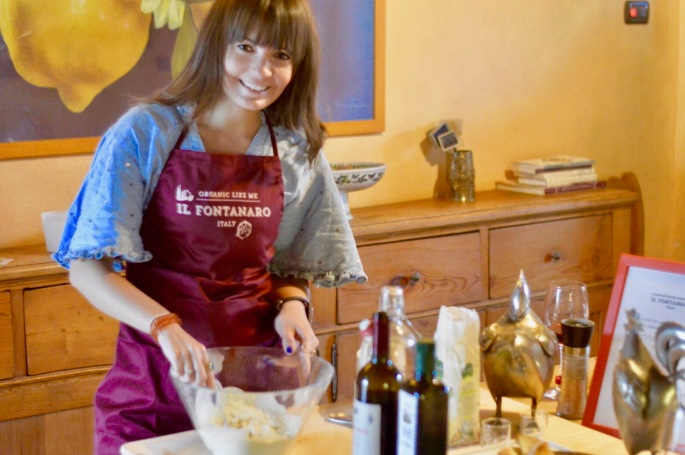 Stacey Hogan Cooking Italy