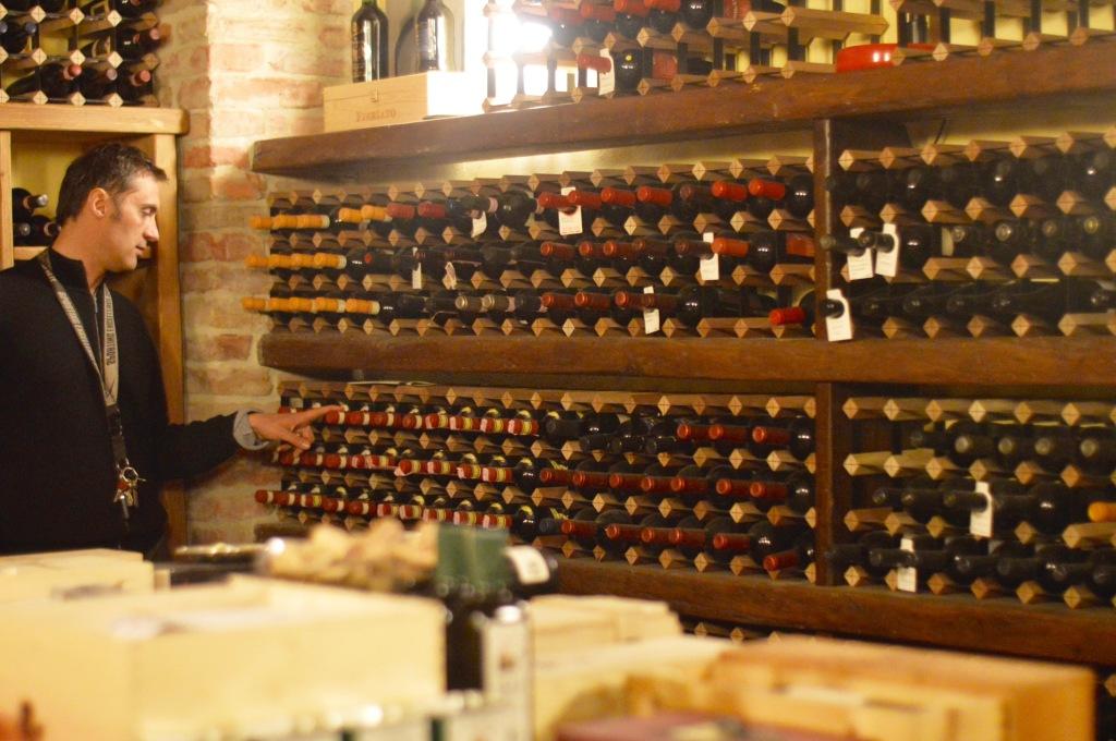 Stacey Hogan Wine Cellar